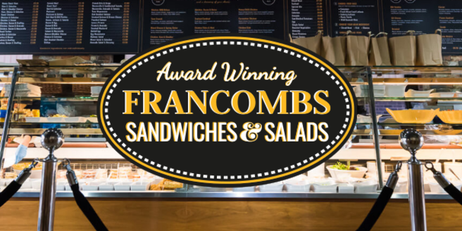 Francombs   award winning sandwiches and salads